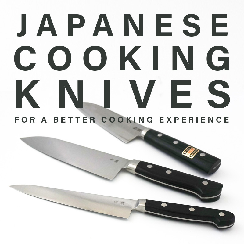 Japanese cooking knives for a better cooking experience